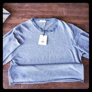 Onia Crewneck Sweater Sea Strip